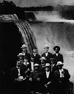 Some members of the Niagara Movement in 1905