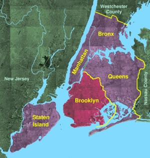 Brooklyn Borough in New York City