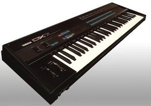 A classic FM synthesizer, the .