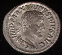 A Roman , a standardized  coin (See also ).