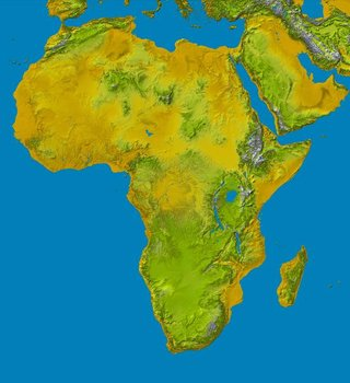 Topography of Africa
