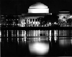 MIT's Great Dome, as viewed from across the Charles River.