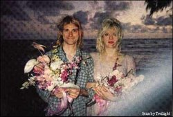 Cobain and Love are married in Hawaii