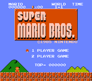 Super Mario Bros for the NES (1985) and its widely known game music.