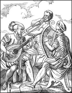 Medieval Illustration of a Lute and GuitarImage provided by Classroom Clipart (http://classroomclipart.com)